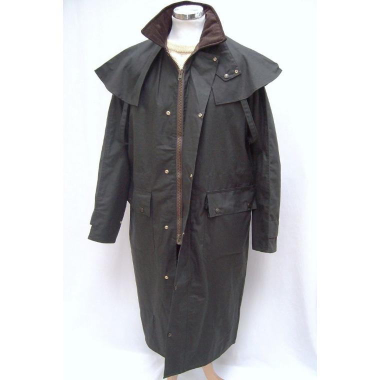 S C Fuller Hunter Outdoor Edinburgh Waxed Coat