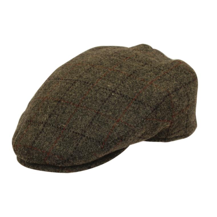 Denton Hats Gatsby Wax Cap 8 Piece Brown Medium//Large Traditional Hat Outdoor