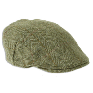 Heather Fox Derby Tweed Flat Cap300